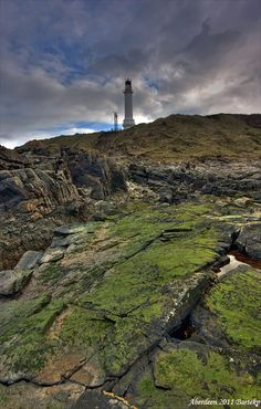 Girdleness Lighthouse - Aberdeen, Aberdeen Scotland by Bartlomiej Przezdiecki