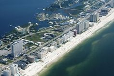Aerial View of Gulf Shores Alabama - Photo Credit: toddmedia / Getty Images