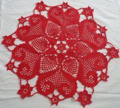 toalha-em- croche-flores-e-coracoes-