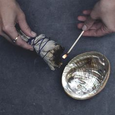 Your guide to creating sacred space through smudging.