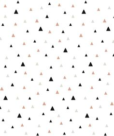 Geometric triangle black and coral wallpaper Cute Backgrounds, Cute Wallpapers, Wallpaper Backgrounds, Iphone Wallpaper, Coral Wallpaper, Pattern Wallpaper, Textures Patterns, Print Patterns, Mint Paint