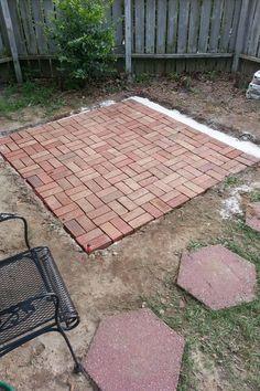 DIY Backyard Patio - Imgur