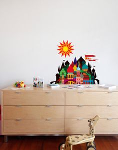 This Imaginary Castle wall decal goes great with matryoshka dolls and a bottle of vodka. Available in 2 sizes, a wide decal and a wide decal. Let your imagination decide. Birch Tree Wall Decal, Large Wall Decals, Polka Dot Wall Decals, Flower Wall Decals, Removable Wall Decals, Wall Stickers, Castle Wall, Matryoshka Doll, Vodka