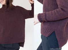 Ich hatte euch versprochen die Anleitung für meinen Pullover  zur Verfügung zu stellen. Die Vorlage zu meinem Oversize Pulli war ein ge...