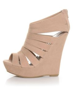 nude wedges $36 (great price for shoes that'll make your legs look a foot longer!)