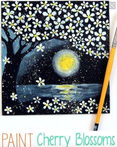 Screen Shot 2016-02-16 at 16.30.16 Cherry Blossom Watercolor, Cherry Blossoms, Screen Shot, Inspiration, Painting, Etsy, Shelves, Art, Biblical Inspiration