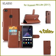 KLAIDO Phone Case For Huawei P8 Lite 2017 Wallet Case Luxury Flip Case For For Huawei P8 Lite 2017 leather Case With Card Slot