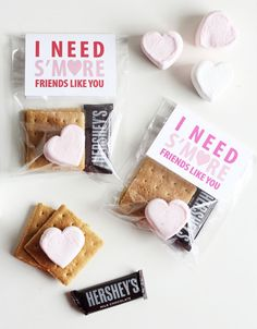 These S'mores are such a good Galentine idea.