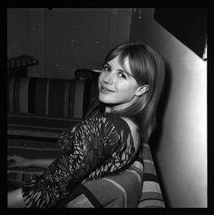 Marianne Faithfull by Michael Ochs, ca. 1965