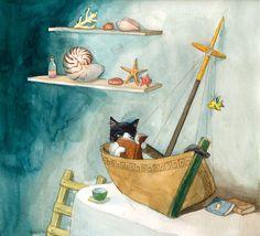 Vivien Wu — So I love children's book illustration, and since...