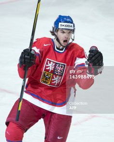 Michael Frolik ( JONATHAN NACKSTRAND, AFP/Getty Images / May 2012 ) Michael Frolik of the Czech Republic celebrates as he scores a goal during a preliminary round match against Norway. Patrick Sharp, Hockey Boards, Winter Games, Hockey Teams, Stanley Cup, Chicago Blackhawks, World Championship, Fla Panthers, Czech Republic