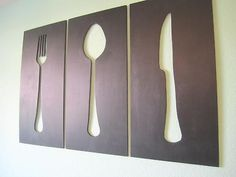 If you're handy with a scroll saw this is an easy #DIY #walldecor idea