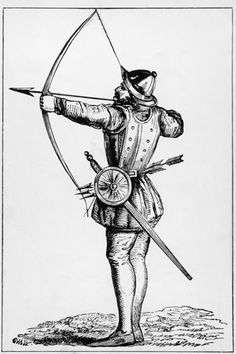 In 1552 Henry Pert, a gentlemen from Welbeck, Notts., died from an arrow to the eye - after looking down the barrel of his loaded longbow.