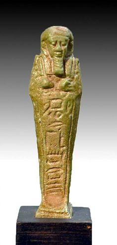 Ancient Egyptian Faience Ushabti : Lot 10