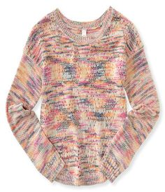 Kids' Multicolored Marled Sweater -