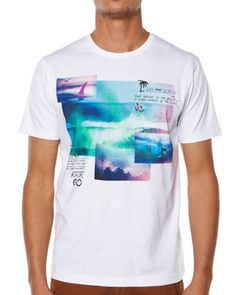 SURFSTITCH - MENS - TEES - REGULAR FIT TEES - RIP CURL SOME DAYZ TEE - WHITE