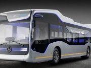 Mercedes-Benz inició pruebas de su autobús autónomo