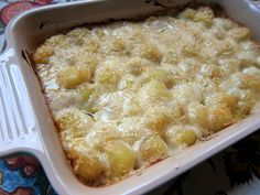 Gnocchi Mac and Cheese - THE BEST mac and cheese EVER! They only mac and cheese recipe you will need! I could eat this with every meal and never get sick of it! Give it a try ASAP!