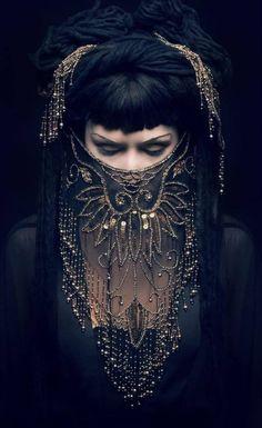 Photography dark beauty goddesses 27 ideas for 2019 Tribal Fusion, Beauty And Fashion, Dark Fashion, Ladies Fashion, Fashion Face, Women's Fashion, Fashion Trends, Dark Beauty, Hidden Beauty