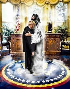 Donald Trump as a messenger of god. Previous delusional pinner said: Please Pray for our President ❤❤❤ Donald Trump, Prophetic Art, Our President, Prayer Warrior, We Are The World, Dear Lord, New World Order, God Bless America, Names Of Jesus