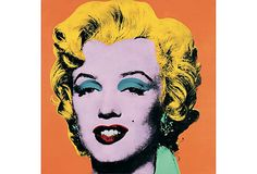 {Marilyn} by Andy Warhol, oversize poster. want.