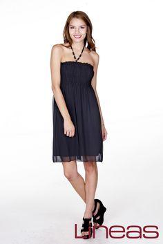 Vestido, Modelo 19536. Precio $230 MXN #Lineas #outfit #moda #tendencias #2014 #ropa #prendas #estilo #primavera #outfit #vestido