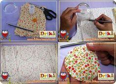 APRENDA COMO FAZER FUXICO PASSO A PASSO  Um lindo artesanato que você pode fazer e que não é difícil e nem exige materiais ou ferramentas caras são as Flores de Fuxico.  Você sabia que o artesanato com fuxico é muito versátil e permite que você customize peças do vestuário em geral, como blusas, camisetas, bermudas, calças, shorts e muito mais?         Além disto, você também pode usar uma flor de fuxico para decorar uma bolsa, uma almofada, um porta retrato, fazer chaveiro, caminhos de…