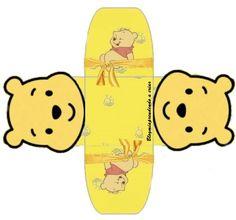 Cajita abierta Pooh