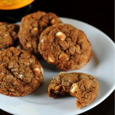 Molasses Oatmeal White Chocolate Chip Cookies By Culinary Concoctions By Peabody - Grandma's Molasses