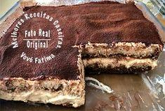 TIRAMISU ORIGINAL - a Real Receita Italiana - Receitas da Vovó Fátima Nora, Blondies, Ethnic Recipes, Desserts, Cheesecake, The Originals, Kitchen, Decor, Desert Recipes