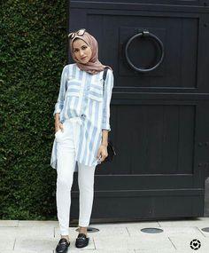 Muslim Fashion, Modest Fashion, Girl Fashion, Fashion Outfits, Hijab Style, Casual Hijab Outfit, Hijab Chic, Modest Outfits, Cute Outfits