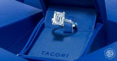 Trending On Instagram: Emerald Cut Engagement Rings #emeraldcut #emeraldring #Tacori #TacoriRing #engagementring