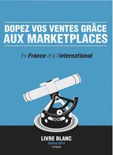 Place de marché : Livre blanc pour développer ses ventes (2013) #marketplace #lengow