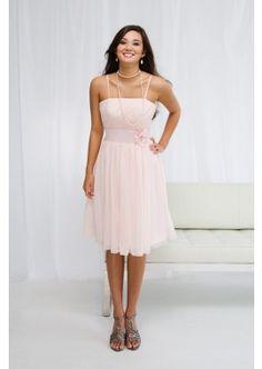 Smiley Light Pink Bridesmaid Dress with Spaghetti Straps Chiffon Cocktail Gown-WHITE 2015 Wedding Dresses, Event Dresses, Bridal Dresses, Light Pink Bridesmaid Dresses, Spaghetti Strap Dresses, Spaghetti Straps, Cocktail Gowns, Pink Dress, Wedding Ideas
