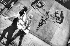 #StreetArt on #London with #starring #guests  by gelmo_lebon