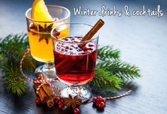 Warm up with these winter drinks & cocktails. Check out the recipe roundup at This Mama Cooks! On a Diet - thismamacooks.com (sponsored)