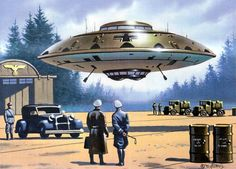 Nazi UFOs | And we thought that we only got the Jet & Rocket technologies from the Germans....