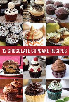 12 awesome chocolate cupcake recipes for Chocolate Cupcake Day