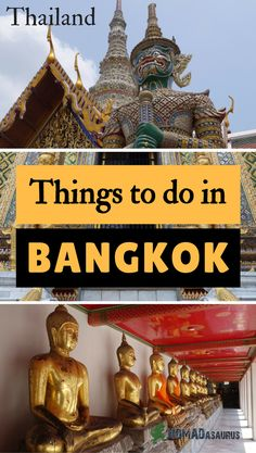 We have put a list together for you of the best things to do in Bangkok. Bangkok is a happening place and there is so much to see and do. Don't miss this city off your list of places to visit in Thailand. Happy planning and enjoy our list of places to visit in Bangkok.