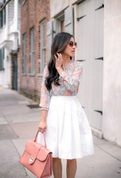 Cute Spring Chic Office Outfits Ideas 13