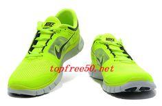 pU567F Volt Pure Platinum Reflective Silver Nike Free Run 3 Men's Running Shoes
