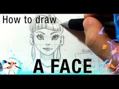 """Drawing Faces Tutorial - Female Proportions!"" by Ahmed Aldoori*   • Blog/Website 
