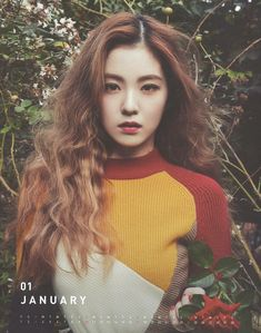 January Irene  RED VELVET's 2016 Season Greeting - Calendar