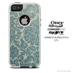 The Green Subtle Laced Skin For The iPhone 44s or by TheSkinDudes, $9.99