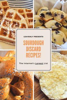 Dough Starter Recipe, Sourdough Starter Discard Recipe, Bread Starter, Starter Recipes, Sour Dough Starter, Sourdough English Muffins, Sourdough Pancakes, Sourdough Recipes, Sourdough Bread