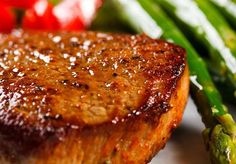 Country Beef Steak with Garlic Butter - Country Recipe Book