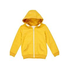 boys yellow hoodie - hoodies / sweatshirts - boys - River Island ($22) ❤ liked on Polyvore