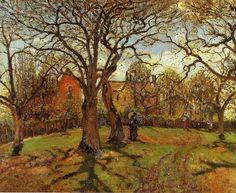 Pissarro, Camille  - Chestnut-trees, Louveciennes, Spring   - 1870 | by *Huismus