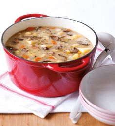 Soup Recipes, Healthy Recipes, Healthy Food, Polish Recipes, Soup And Sandwich, Food 52, Bon Appetit, Cheeseburger Chowder, Food And Drink