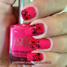 Spring nails - easter nails -summer nails #nails #summer nails #spring nails #unhas pintadas #unhas #unhas decoradas #pink nails #nail art #easter nails
